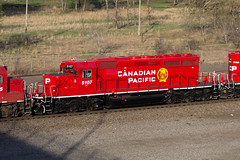CP 5107 St. Paul MN (SP Patch) Tags: gmd sd403 sd402 cp canadian pacific 5107 st paul mn minnesota