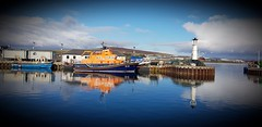 Spring Morning (MBDGE Over 1.2Million Views) Tags: kirkwall orkney basin spring morning rnli lifeboat reflection