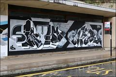 Skyhigh / Niser (Alex Ellison) Tags: skyhigh yocrew southlondon croydon urban graffiti graff boobs niser
