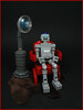 Just Chillin' (Karf Oohlu) Tags: lego moc robot droid chair relaxing lamp scifi