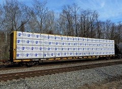 TTZX 84916 (Proto-photos) Tags: ttzx ttx 84916 lumber loaded centerbeamflatcar railcar train railroad rollingstock freightcar connellsville pennsylvania sierra pacific fbc f383