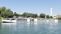 river cruise ship Viking Herja on rhine in Basel Switzerland 2018 (roli_b) Tags: river cruise ship viking herja vikingherja schiff boot boat fluss kreuzfahrtschiff rhein rhine basel basle switzerland schweiz suisse suiza svizzera 2018 marine
