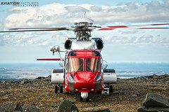 Sikorsky S-92A G-MCGK (Aviation-Pictures.co.uk) Tags: helicopter rescue sar search aviation pictures dan foster