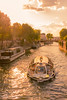 Sun setting over the seine river (russelryan) Tags: seine spring champselysee concorde paris sunny arcdetriomphe sunset boating