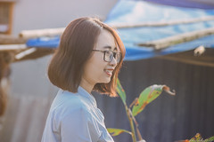 IMG_2929 (Haru2212) Tags: girl ngoàitrời người lightroom nature natural naturalbeauty canon sunday canon450d smile magic vietnamese vietnam