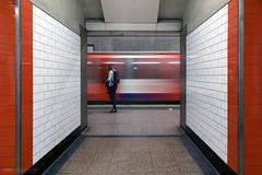 Waiting for trains at St Pauls Station (Luke Agbaimoni (last rounds)) Tags: london londonunderground londontube transportforlondon train trains streetphotography street