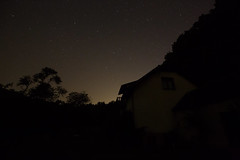 so dark... (paul.wienerroither) Tags: night nightonearth stars nightsky nature natureshots dark austria photography canon 35mm light lightanddark trees silhouette house building countryside getoutside exploremore explore camping t4california