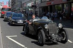 Topless motoring - DSCF1771b (normko) Tags: london strand motor car sports automobile vintage alt37 singer nine 1930s