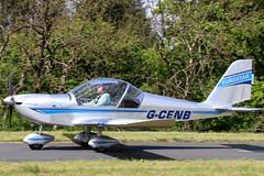 G-CENB (GH@BHD) Tags: gcenb evektor evektoraerotechnik ev97 teameurostar eurostar microlight carrickmoreairfield carrickmore aircraft aviation