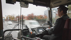 Kyoto bus driver - Japan (Marconerix) Tags: kyoto japan giappone bus people driver man