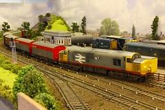 37506 Langford Moor 07.05.08-1 (jonf45 - 4 million views -Thank you) Tags: langford moor oo gauge model railway train set plastic bachmann hornby heljan network southeast nse 3rd rail