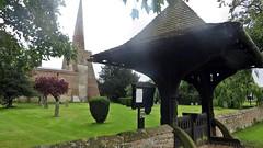 Conington Cambridgeshire (jmc4 - Church Explorer) Tags: conington church tower spire lychgate graveyard cambridgeshire