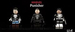 The Punisher (L1n6zz) Tags: eclipsegrafx marvel lego thepunisher minifiguremaniacs