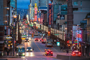 Electric Avenue 💡 Vancouver, BC