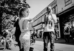 Too Young to Smoke (gwpics) Tags: england greatbritain children streetphotography people family mono uk smoking analog analogue everydaylife film leica lifestyle monochrome person socialcomment socialdocumentary society streetphotos streetpics unitedkingdom bw blackwhite blackandwhite child kids streetlife