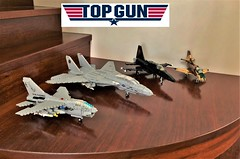 Jets Featured in Top Gun (Lego Admiral) Tags: lego legoadmiral a7 corsairii f14 tomcat mig28 f5 tiger a4 skyhawk