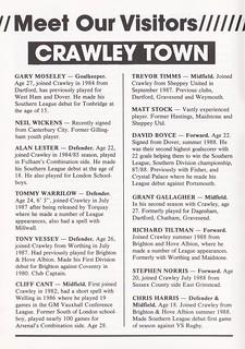 Bath City vs Crawley Town - 1989 - Page 6