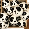 More panda-monium in Inglewood! 🐼 These adorable locally crafted dryer balls are made from 100% Canadian wool. Toss a few in the dryer to soften fabrics, shorten drying time, save energy and eliminate chemicals from the use of dryer sheets and (Luxury Home Decor) Tags: lemonceillo lemonceillohome home luxury decor luxurydecor homedecor decorating homedecorating inspiration interiordecor interiordecorating rooms roomdecor homeaccents