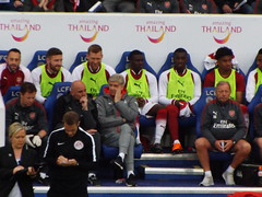 Arsenal bench (lcfcian1) Tags: leicester city lcfc afc arsenal king power stadium football sport epl bpl leicestercity arsenalfc leicestervarsenal kingpowerstadium premier league premierleague stadia 31 9518 leicestercity31arsenal9518 arsenewenger stevebould