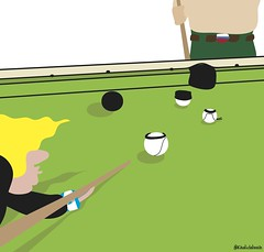 Arab Pool (khalid Albaih) Tags: khartoon khalidalbaih sudan cartoon illustration palestine israel gcc qatar mbs mbz trump السودان خرطون خالد البيه كركتير