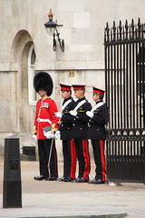 Household guards in Whitehall (Ian Press Photography) Tags: guard guards soldier army military london england tourist tourism uk british soldiers whitehall footguards foot ceremony ceremonial guardsman guardsmen infantry regiment regiments coldstream