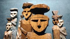 Escultura no Museu Pré-Colombiano - Chile (Tiago Nomack) Tags: chile férias osorno puerto varas frutillar cajon del maipo andes cordilheiras