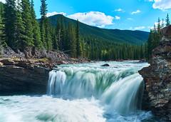 Sheep Falls - Kananaskis (dhugal watson) Tags: sheep falls kananaskis alberta canada river fuji x100f