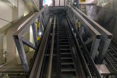 Hudson Yards inclined elevator (nicknormal) Tags: 7subway elevator escalator