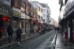Uskudar District Street Scene (lazy south's travels) Tags: istanbul turkey turkish road street scene shop urban city candid narrow