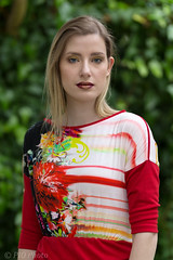 Botanic garden (piotr_szymanek) Tags: magda magdas woman milf young skinny portrait outdoor fotogenerator botanicgarden blonde longhair eyesoncamera 1k 20f 50f 5k 10k