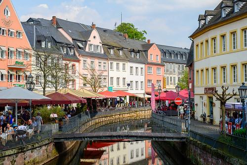 Saarburg. Mitte