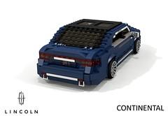 Lincoln Continental - 2017 (lego911) Tags: lincoln 2017 2010s continental luxury premium saloon sedan awd v6 turbo ecoboost cd4 cd43 d544 ford motor company auto car moc model miniland lego lego911 ldd render cad povray