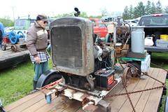 Newfane 066 (24) (swi66) Tags: dunkirk hit miss motors diesel cannons farm tractor john deere antique historical