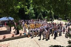 180520-10 Молодёжный крестный ход поднялся к Бештаугорскому монастырю