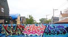 WaspXaustLevis2 (Rodosaw) Tags: lurrkgod chicago graffiti documentation street art graffitiart mfk squad levis xaust wasp