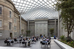 Robert and Arlene Kogood Courtyard, National Portrait Gallery, Washington DC. Interior canopy and renovation Foster + Partners, 2004 (Travis Stansel) Tags: smithsonian nationalportraitgallery normanfoster portraitgallerycourtyard smithsoniancourtyard washingtondc contemporaryarchitecture architecturalphotography publicspace