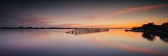 Silence (fotobagaluten.de) Tags: sunset elbe river skies water wasser sonnenuntergang himmel flus geesthacht schleswigholstein twilight zwielicht blauestunde blue hour