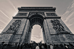 Arc Triomphe (Yoalad) Tags: architecture architectural arches paris france