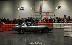 Low Drag GT (joao_gomes85) Tags: 1967 2013 jaguar etype low drag gt the london classic car show 2018 uk grey excel england jlr