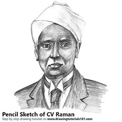 CV Raman (drawingtutorials101.com) Tags: cv raman sir chandrasekhara venkata indian physicists sketching pencil sketch sketches drawing draw speeddrawing timelapse timelapsevideo how