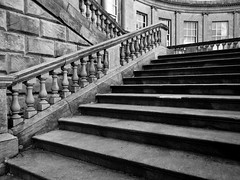 [NT] Kedleston Hall. Steps To Grandeur. March 2018 (Simon W. Photography) Tags: kedlestonhall nationaltrust derbyshire historicengland historic history blackandwhite blackwhite greyscale monochrome monotone grayscale bw bnw uk nationaltrustuk perspective pointofview lowpov pov depthoffield dof unitedkingdom england english greatbritain gb britain british eastmidlands simonhx100v sonydschx100v sonyhx100v hx100v ambervalley