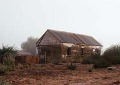 Old Building (Semjaja) Tags: nikonf90x nikon nikkor 28105mm kodak ektar kodakektar100 35mm 35mmcamera 35mmfilm film filmlives filmsnotdead filmphotography filmcamera ishootfilm ilovefilm shootfilm ruraldecay rural barn graafwater southafrica