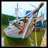 wooden boat (harrypwt) Tags: harrypwt indonesia canon marine surabaya eastjava sea coastal wharf boat ship seaport tanjungperak 11 framed