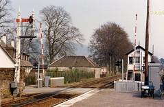 f Blair Athol LC at sth end (Ernies Railway Archive) Tags: blairatholstation hr lms scotrail