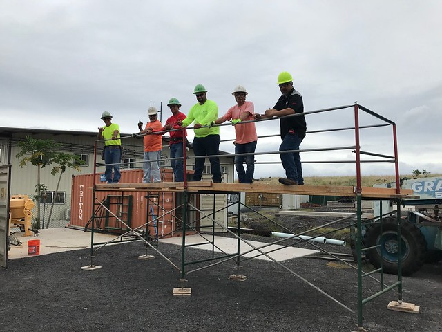 Big Island scaffold Class