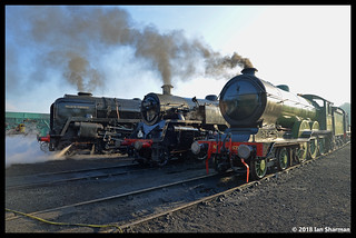 No 8572 No 80072 No 92203 Black Prince  22nd April 2018 North Norfolk Railway Steam Gala