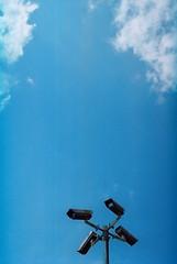 offside2016. jerusalem. (Yaroslav F.) Tags: jerusalem israel 35mm film camera street photo cctv sky yaroslav grob olympus om 1n kodak