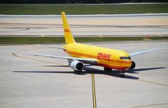 DHL 767 - Tampa (Infinity & Beyond Photography) Tags: dhl cargo airlines freighter boeing 767 767f b767 b767f aircraft tampa airrport tpa planes