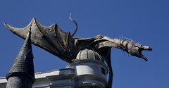 Dragon at Gringotts (Bruce82) Tags: 118picturesin2018 canon70d tamron18200mm florida orlando dragon 26of118 26 gringottsbank thewizardingworldofharrypotter diagonalley universalstudios themepark