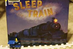 Sleep Train (Carol (vanhookc)) Tags: bookdisplay sleeptrain childrenslit literature read reading literacy lullaby countingtrains counttoten jonathanlondon laureneldridge kidsbooks